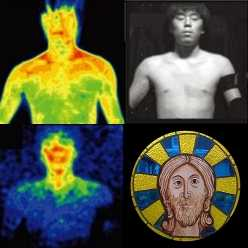 glowings humans auras biophotonics ultra weak photon emissions and acupuncture meridians