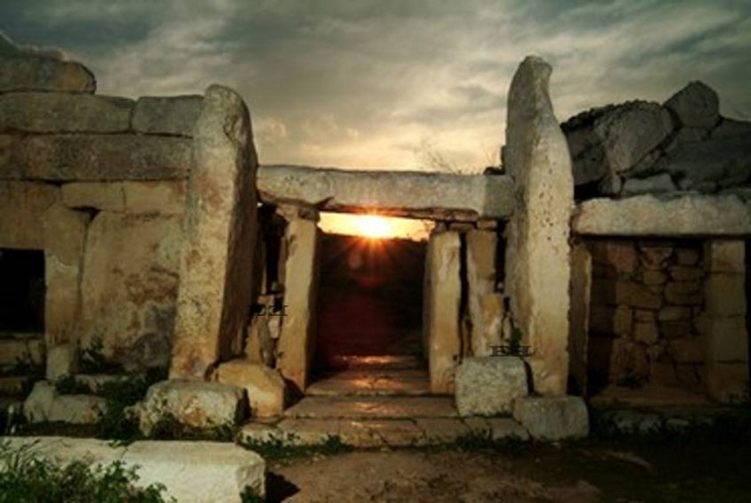 Megalithic Stone Temple in Malta