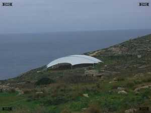 Mnajdra temples complex protection cover plan scheme malta 2009 photos