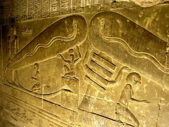 dendera lightbulb mystery puzzle solved evidence electric universe theory