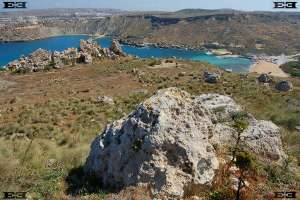 Gnejna Bay Malta | sandy beach, Megaliths (Menhi