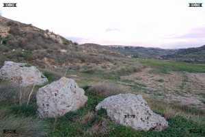 Mtahleb malta near Dingli cliffs and Ta Baldu Cliffs and Cart Ruts - ancient Temple Builders Solar Observatory