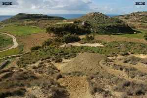 near mtahleb chapel shaped hills ancient sky heavens solar lunar observatory complex Mtahleb chapel