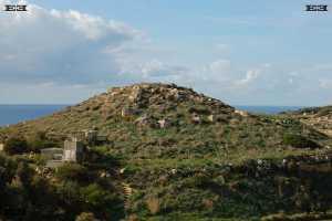 near ras id dawwara malta temple builders solar observatory Mtahleb chapel