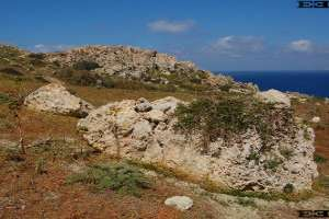 photographs maltas temples sites megaliths solar observatory Gnejna Bay beach Malta