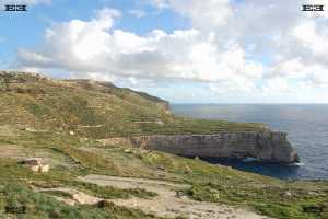 ras id dawwara malta scuba diving cliffs photographs west coast