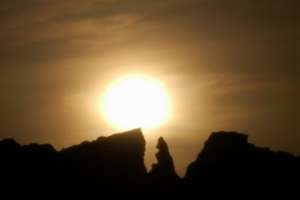 sunset Malta sun observatory temple builders Gnejna Bay spring equiluxes