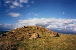 tor mound hill new zealand Waitapu Valley stone circles Maunganui Bluff North Island
