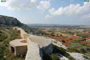great fault line escarpment malta start view victoria lines malta madliena heights